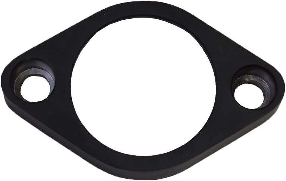 A-Team Performance Water Neck Thermostat Housing 45/° Swivel Compatible with SBC BBC Small Block Big Block Chevy 283 302 305 327 350 383 396 427 454 502 Black