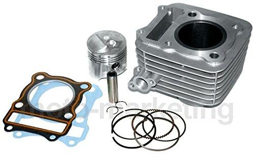 G/én/érique 125 CC Cylindre Haut Moteur Piston Complet KIT pour Suzuki DR125 DR 85-06 4TEMPS