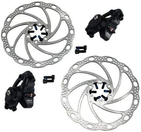 TEKTRO LYRA MD-C500 Cyclocross CX Road Mechancial Disc Brake Set F+R Silver