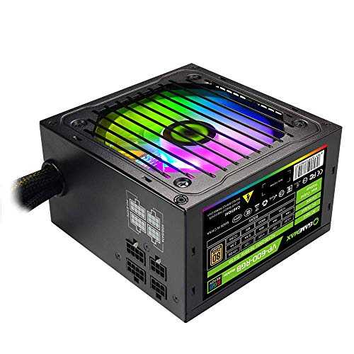 Power Supply 600W Semi Modular 80+ Bronze, GAMEMAX VP-600-M-RGB