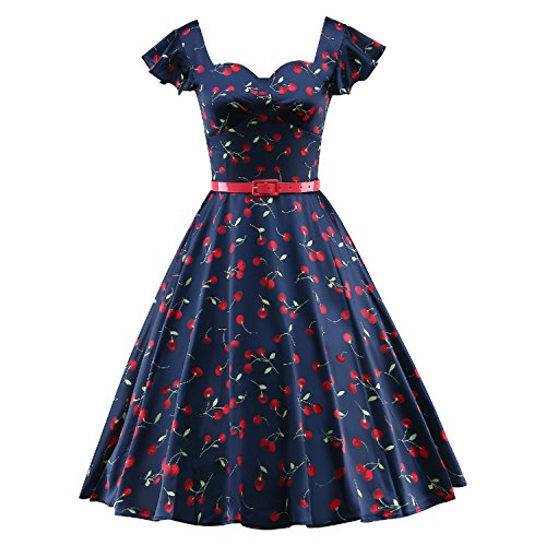 LUOUSE-Womens-Retro-Vintage-60s-Rockabilly-Cocktail-Party-Swing-Dresses