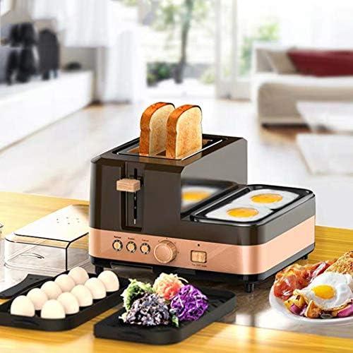 Grille-pain Grille-pain automatique à trois-en-un petit déjeuner Accueil machine multi-fonction Grille-pain outil de cuisine