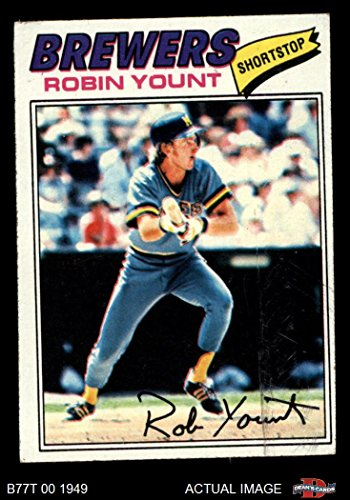 1977 Topps # 635 Robin Yount Milwaukee Brewers (Baseball Card) Dean's Cards 3 - VG Brewers