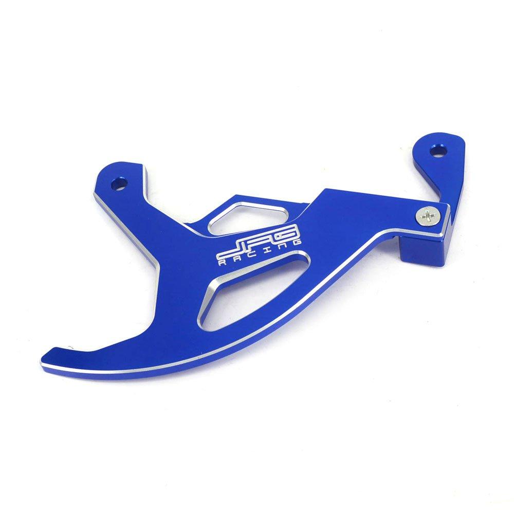 JFG RACING CNC Rear Brake Disc Guard Cover Protector For Yamaha YZ125 YZ250 YZ250F YZ450F 06-17 YZ125X 17 YZ250X 16-17 WR250F WR450F 06-16 WR250R WR250X 07-17