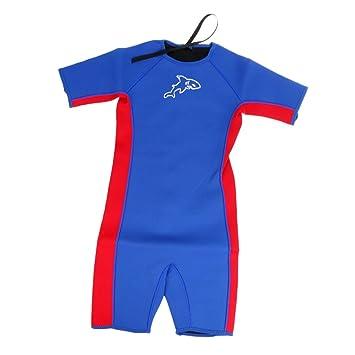 Amazon.com: Magideal traje de neopreno niños traje de niños ...