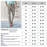 IZOD Men's American Chino Flat Front Straight-Fit