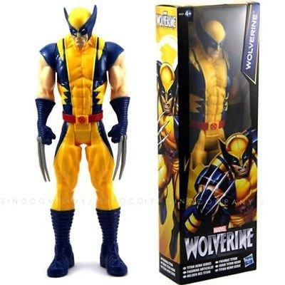 Wolverine X-Men Action FIGURE Toy The AVENGERS Marvel Titan Hero Series 12