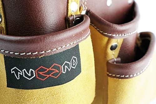 Abenteurer ideal f/ür Kinder-Do-It-Yourselfer Kinder-Werkzeugg/ürtel 7 Taschen aus echtem Leder Kinder-Werkzeughalter Werkzeugtasche mit verstellbarem G/ürtel f/ür kleine Gr/ö/ßen Kost/üme