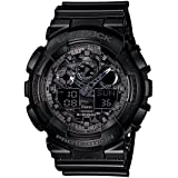 Casio G-Shock World time Analog-Digital Black Dial Men's Watch - GA-100CF-1ADR (G520)