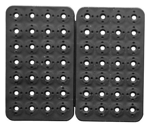 Triton Products 72424 MagClip 2 Panel 56 Magnet Power Mat, 12-1/8-Inch by 10-1/4-Inch, Black by Triton 2