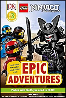 Descargar Libro Ebook Dk Readers Level 3: Lego Ninjago: Epic Adventures Gratis Epub