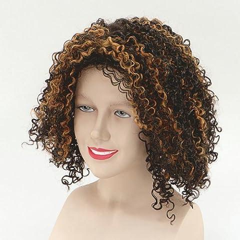 Brown Ladies Mel B Scary Spice Wig
