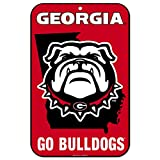 WinCraft Georgia Bulldogs Official NCAA 11'' x 17'' State Plastic Wall Sign 11x17 by 573872