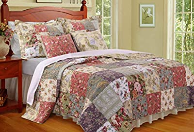 Greenland Home Blooming Prairie King Quilt