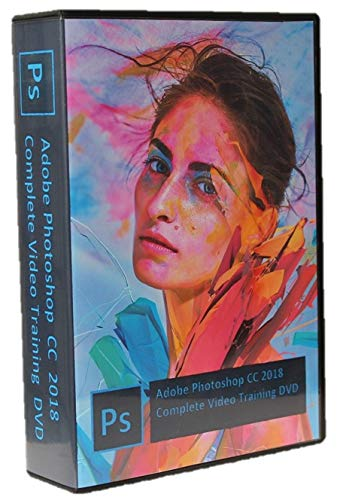 Photoshop CC 2018 Video Tutorial in 12 DVDs (2018 release
