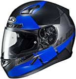 HJC CL-17 Boost Black/Blue Full Face Helmet, 2XL