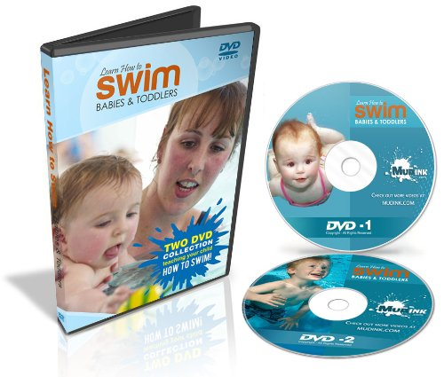Teach Baby to Swim: Learn How to Swim - Swimming Lessons for Babies and Toddlers - 2 DVD Set