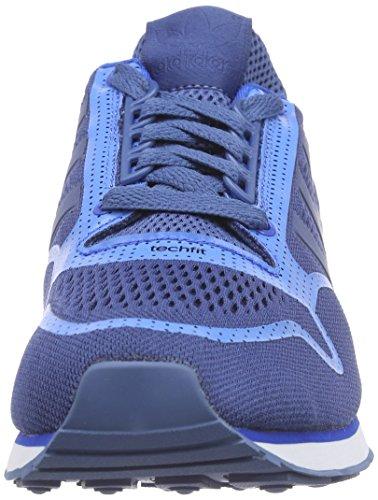 Zapatillas ash White Azul Hombre Adidas ftwr bluebird Blue 500 S15 Zx st Techfit xZYt7