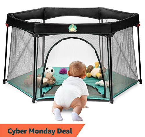 Pack and Play Portable Playard Play Pen for Infants and