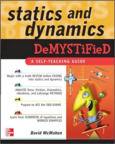 Amazon statics and dynamics demystified 9780071478830 statics and dynamics demystified 1st edition fandeluxe Choice Image
