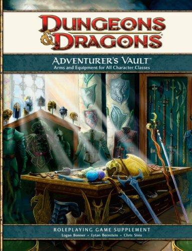 Adventurers Vault A 4th Edition D&d Supplement [Logan Bon] (Tapa Dura)