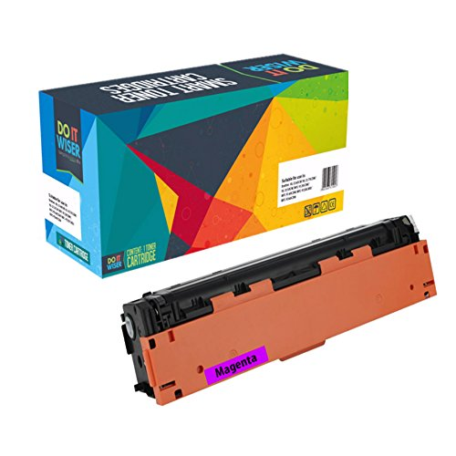 Do it Wiser Compatible Toner Cartridge for HP 201X HP CF403X for HP Color Laserjet Pro MFP M277dw M252dw MFP M277n M252n - High Yield Magenta