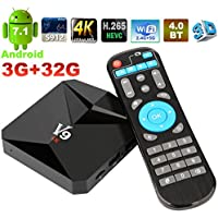 Android TV Box Amlogic S912 Android 7.1 Smart TV Box 3GB+32GB BT4.0 Dual-Band Wifi 2.4G/5G Ultra HD 4K Set-top Boxes