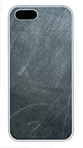 iPhone 5 5S Case Chalk Board PC Custom iPhone 5 5S Case Cover White