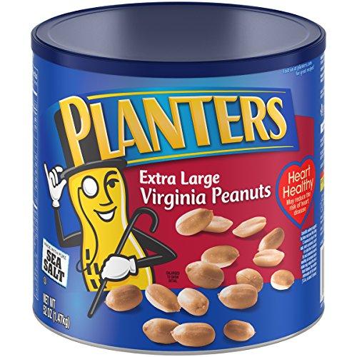 Planters Extra Large Virginia Peanuts, Salted, 52 (Virginia Peanuts)