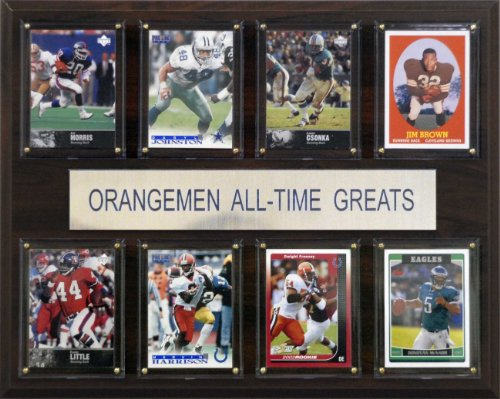 NCAA Football Syracuse Orange All-Time Greats Plaque (Syracuse Orangemen Ncaa Football)