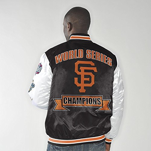 San Francisco Giants Up the Gut World Series Champs Commemorative Satin Jacket XXXXX-Large (Francisco Giants San Jacket)
