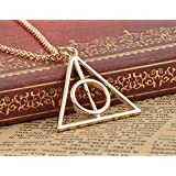 Coins_Stamps_and_More Gold Plated Metal Magic Pendant With 31 Inch Chain Necklace
