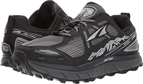 Altra Women's Lone Peak 3.5 Running Shoe, Black, 5.5 B US