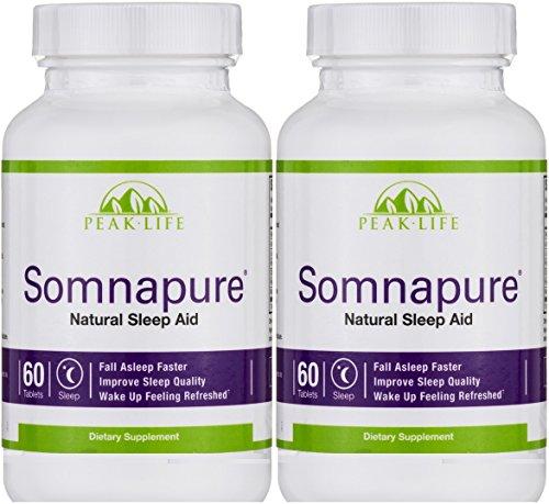 Peak Life Somnapure Natural Tablets