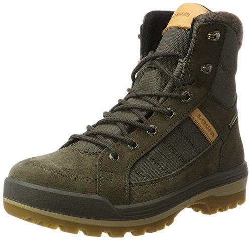 Lowa Isarco III GTX Mid, Stivali da Escursionismo Uomo Marrone (Olive)