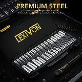 LEXIVON Master HEX Bit Socket Set, Premium S2 Alloy