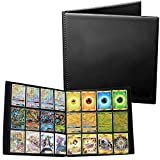 Playoly Trading Binder for Standard MTG Pokemon Card Side Loading Perfect for Card Playset in Four X4 4 x 3 Quadrow