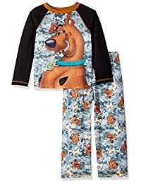 Scooby Doo boys Big Boys Scooby 2 Piece Jersey Sleep Set