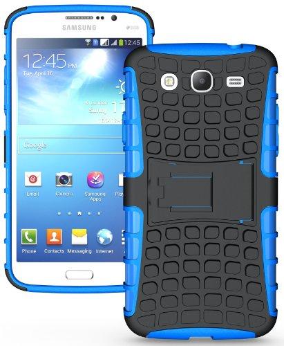 - NAKEDCELLPHONE BLUE GRENADE RUGGED TPU SKIN HARD CASE COVER STAND FOR SAMSUNG GALAXY MEGA 5.8 (i9150 i9152)