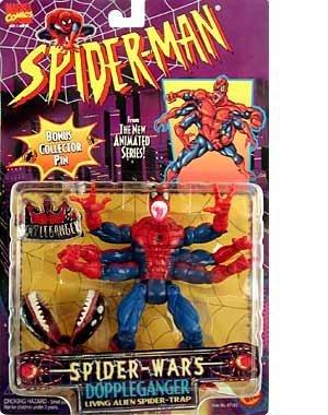 Spider-Man: The Animated Series Spider-Wars > Doppleganger Spider Action Figure by Spider-Man