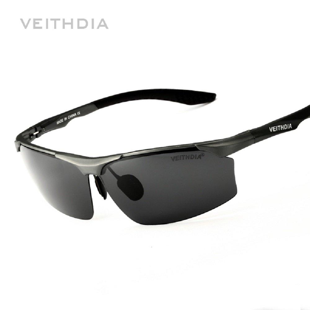 d82e6d8390 2017 VEITHDIA Aluminum Magnesium Brand Polarizerd Mens Sunglasses Sun Glass  Mirror Eyewear for Men Male oculos masculino 6576 at Amazon Men s Clothing  store ...