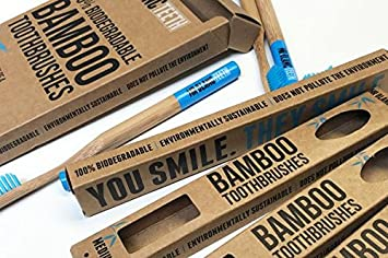 Señor Blanc dientes | bambú cepillos de dientes: Amazon.es: Salud y cuidado personal