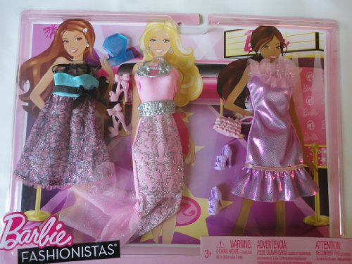 Barbie Clothes Fashionistas - Fashion Award-2011