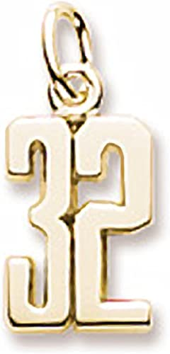 Charms for Bracelets and Necklaces 10k Yellow Gold Cross Charm