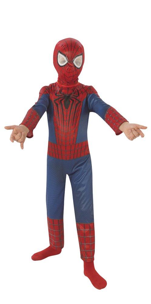 Rubie's 3888862 - Amazing Spiderman 2 Classic Kind Kostüm, S (HerstellerGröße: 3 - 4 Jahre), Rot/Blau
