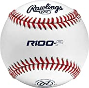 Rawlings Competition Grade Practice Baseballs, All Levels of Play, Raised and Flat Seam Options