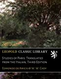 img - for Studies of Paris. Translated from the Italian, Third Edition (Italian Edition) book / textbook / text book