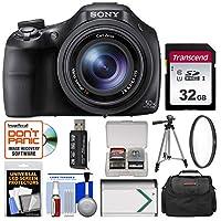 Sony Cyber-Shot DSC-HX400V Wi-Fi Digital Camera with 32GB Card + Case + Battery + Tripod + Filter + Kit