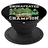 Bigfoot Sasquatch Undefeated Abominable - PopSockets Grip and Stand for Phones and Tablets