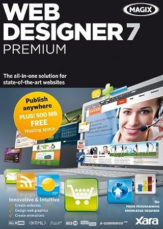 Xara Web Designer 7 Premium (Old Version) [Download]